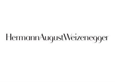 Signet für Produktdesigner Hermann August Weizenegger