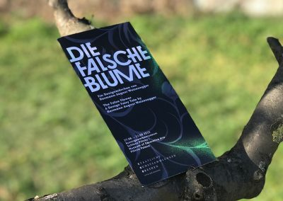 Einladung für Ausstellung im Dresdener Kunstgewerbemuseum