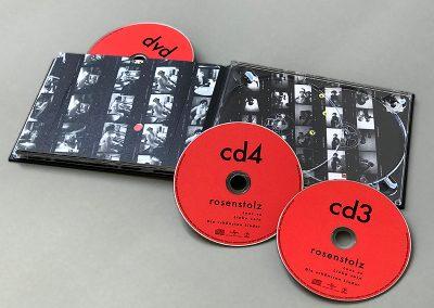 DVD, CD 3 und 4
