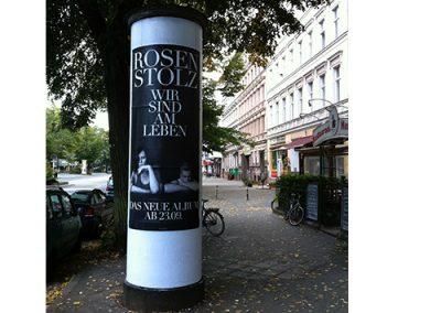 Litfasssäulen Plakatieren deutschlandweit