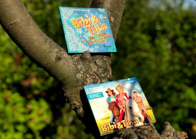 Best-Of Cover und CD Gestaltung für den ersten Teil der Bibi & Tina Filmreihe