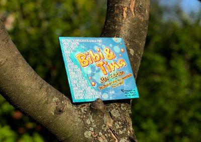 CD-Cover für die größten Hits der Bibi & Tina Filme
