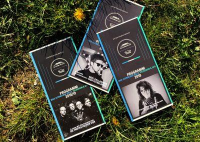 Flyer für Max-Schmeling-Halle-Halle, Velodrom und Ufo im Velodrom