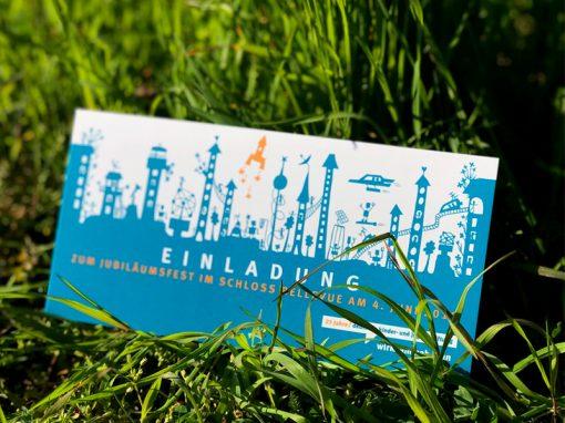 Deutsche Kinder- und Jugendstiftung<br />Corporate Design für Jubiläum