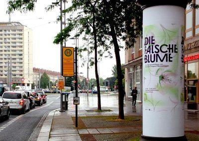Litfasssäulen Plakatieren in Dresden